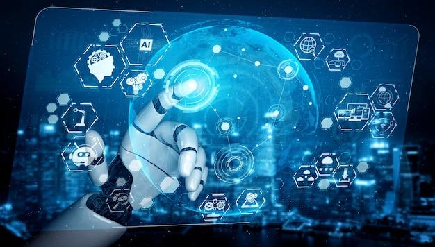 Design von digital data mining und maschinellem lernen für computerhirn.