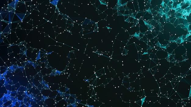 Designkonzept des modernen technologiehintergrunds. moderner futuristischer technologischer hintergrund. blauer hi-tech-hintergrund.