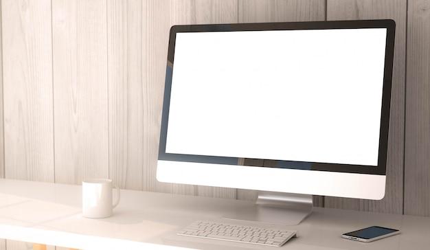 Desktop computerblank