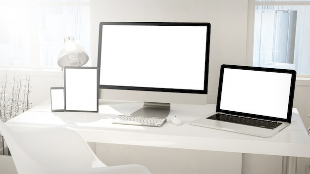 Desktop-geräte imac