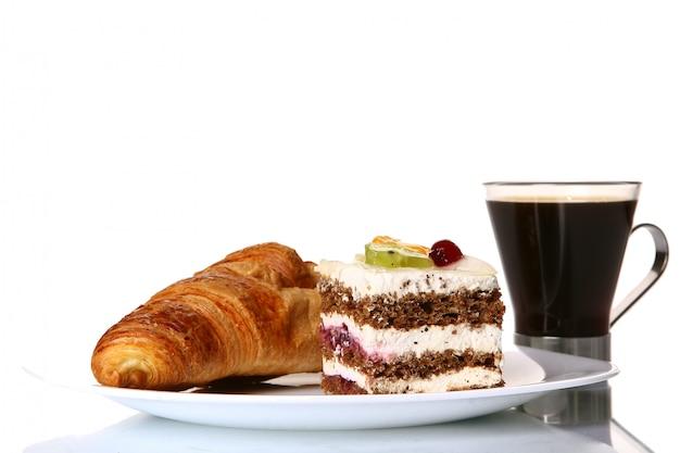 Dessert obstkuchen mit marmelade