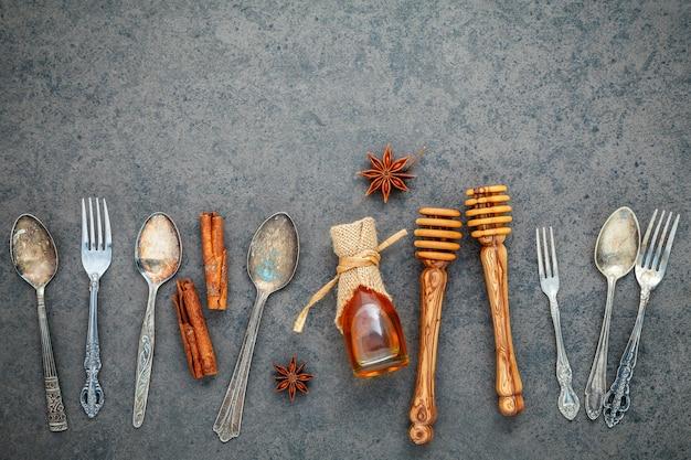 Desserts hintergrund und menü-design.
