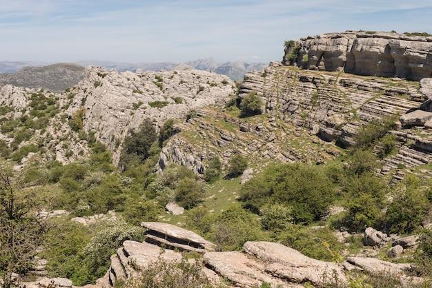 Detail der region von antequera