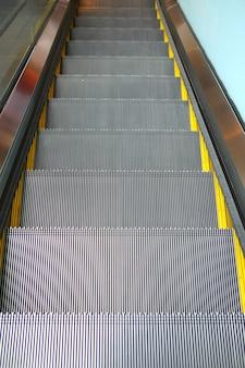 Detail der rolltreppe