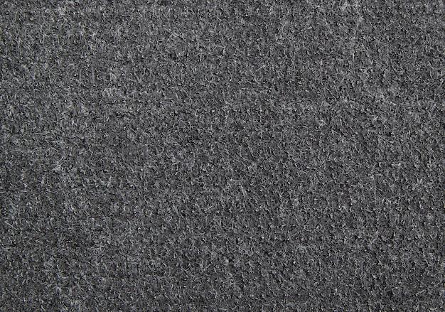 Detail der schwarzen gummitürmattenbeschaffenheit für hintergrund