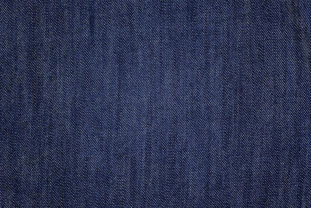 Detail des blauen baumwollstoffhintergrundes und -beschaffenheit