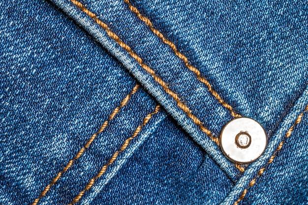 Detail von blue jeans nah oben