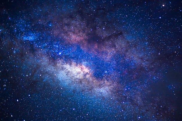 Detail von der milchstraße, lange geschwindigkeit exposture