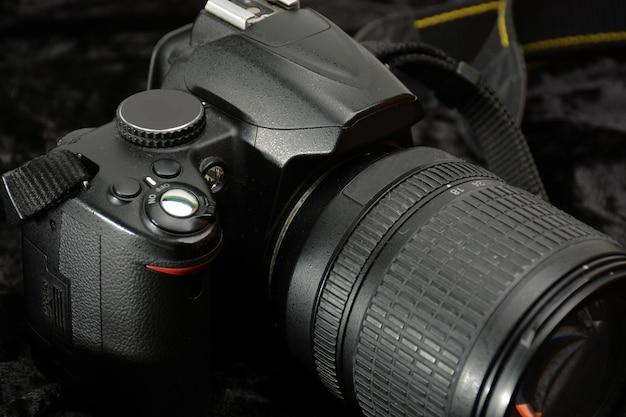 Details eines kamera-reflexes