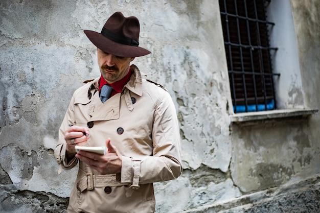 Detektiv notizen in einem ghetto