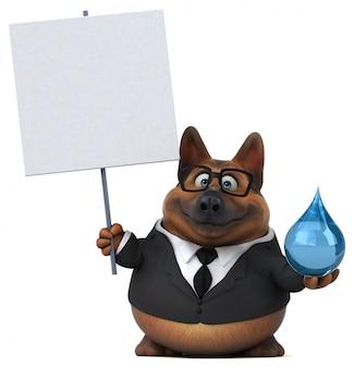 Deutsche schäferhund animation