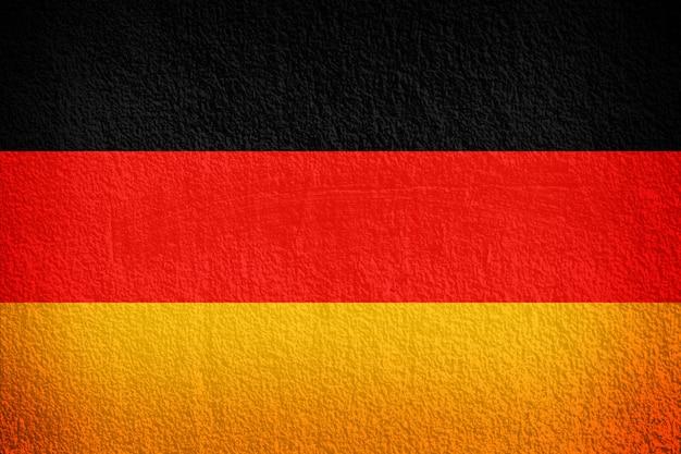 Deutschland flagge auf der wand textur