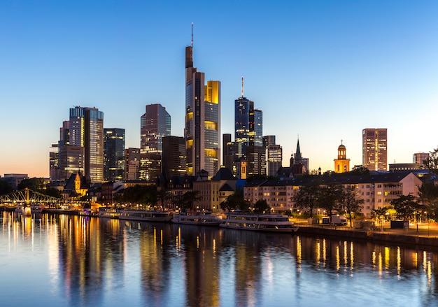 Deutschland frankfurt skyline
