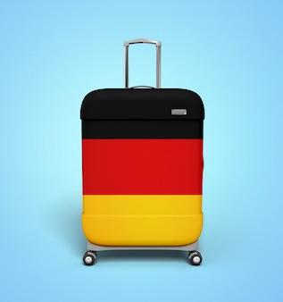 Deutschland koffer - urlaub