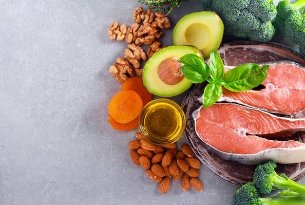 Diät und gesunde ernährung konzept