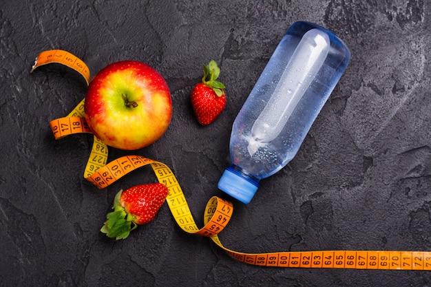 Diät- und sportkonzept