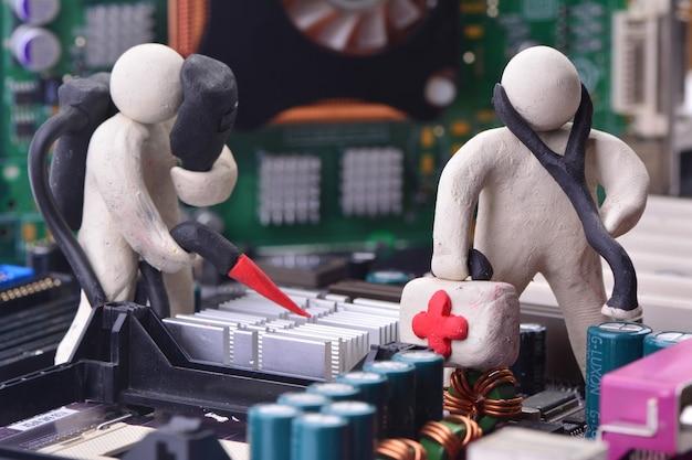 Diagnose und reparatur des computersystems