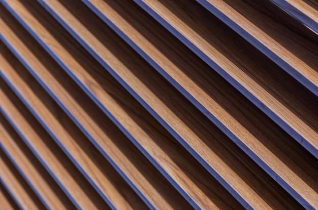Diagonale bronze wellblechhintergrund.