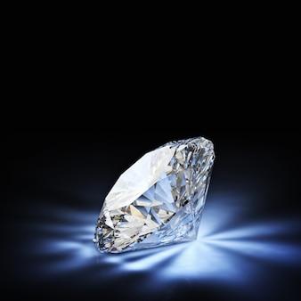 Diamant im klassischen schnitt