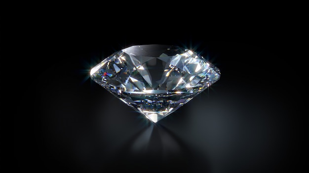 Diamant-nahaufnahme