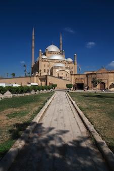 Die alte zitadelle in der kairo-mitte, ägypten
