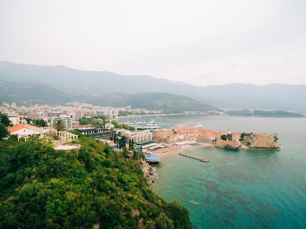 Die altstadt von budva montenegro
