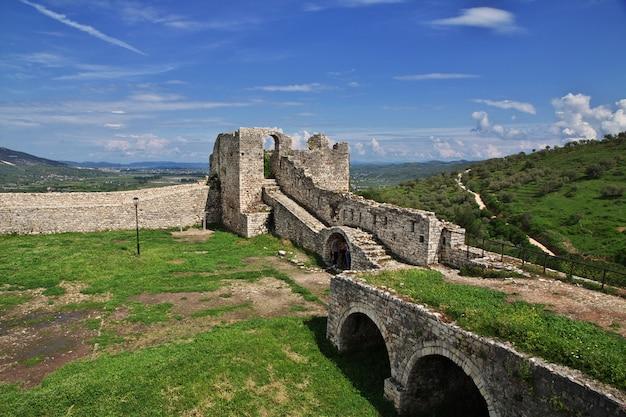 Die antike stadt berat in albanien