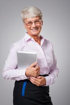 Die arbeit mit digitalen tablets ist einfacher und schneller