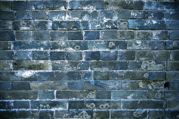 Die backsteinmauern der alten gebäude in china