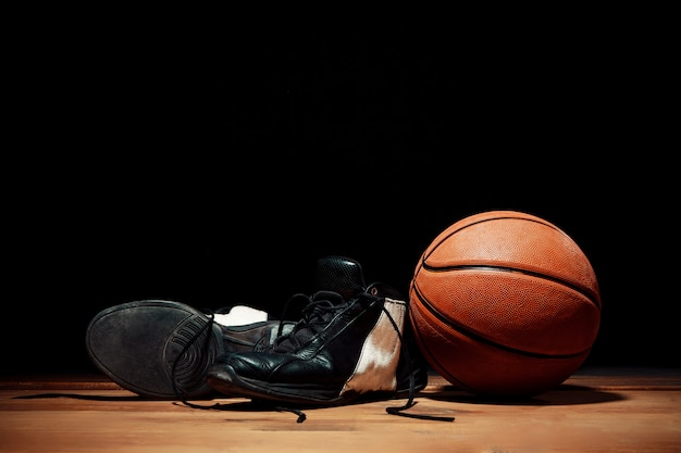 Die basketballausrüstung
