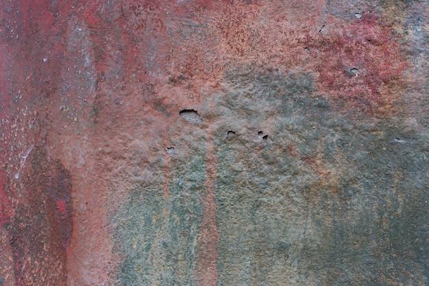 Die beschaffenheit der alten betonmauer für den hintergrund