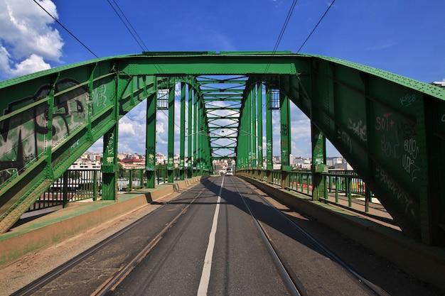 Die brücke in belgrad-stadt, serbien