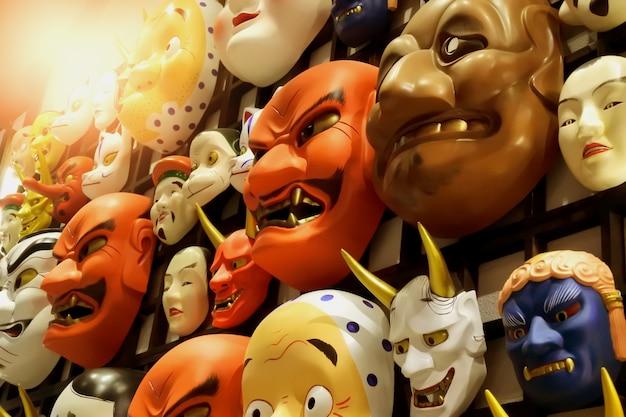 Die dämonenmaske von japan
