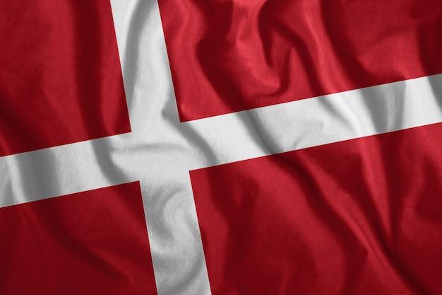 Die dänische flagge
