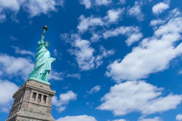 Die freiheitsstatue, new york city, usa