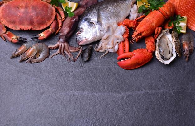 Die frischesten meeresfrüchte aus der ganzen welt