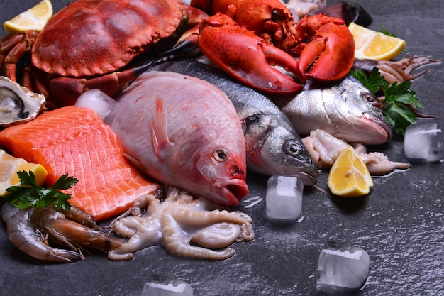 Die frischesten meeresfrüchte für jeden geschmack