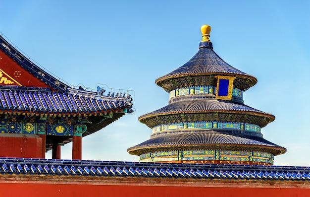 Die gebetshalle für gute ernten in peking. unesco-weltkulturerbe in china