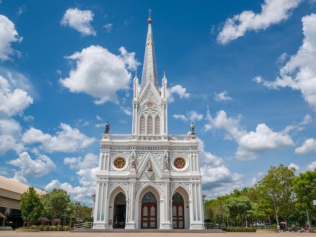 Die geburt christi unserer dame cathedral bei samut songkhram in thailand