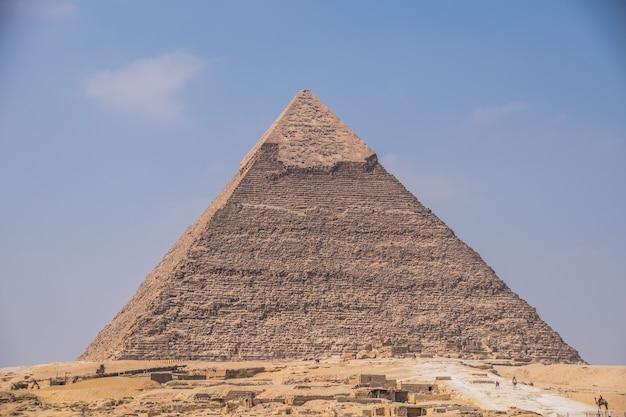 Die große pyramide von giza