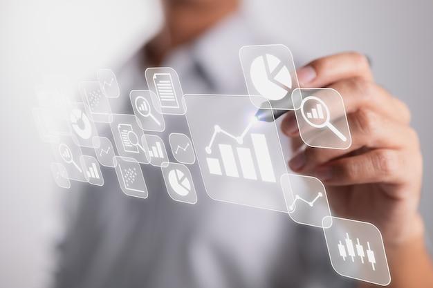 Die idee von analytics und business intelligence