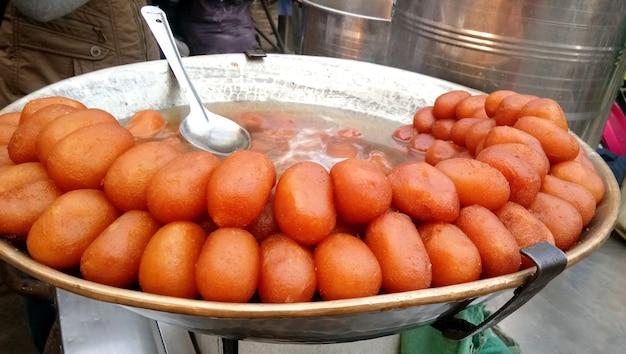 Die indische süßigkeit namens