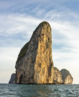 Die insel von phi phi leh krabi, thailand
