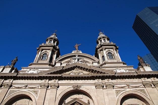Die kathedrale in santiago chile