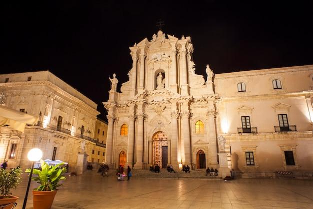 Die kathedrale von syrakus