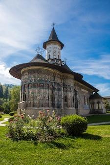 Die kirche aus dem sucevita-kloster in der bukowina rumänien Kostenlose Fotos