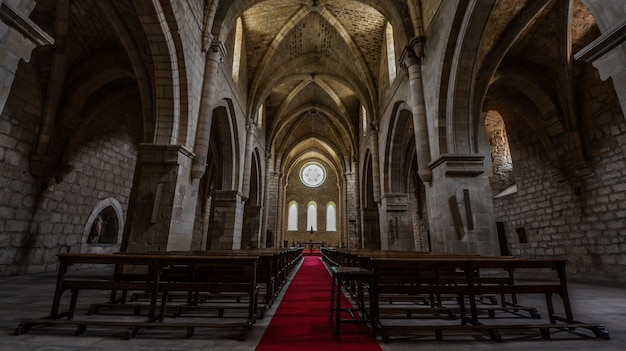 Die kirche des iranzu-klosters