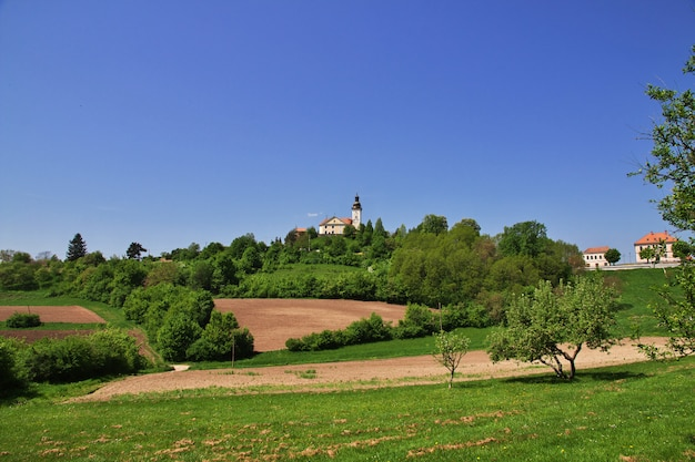 Die kirche in bergen von slowenien