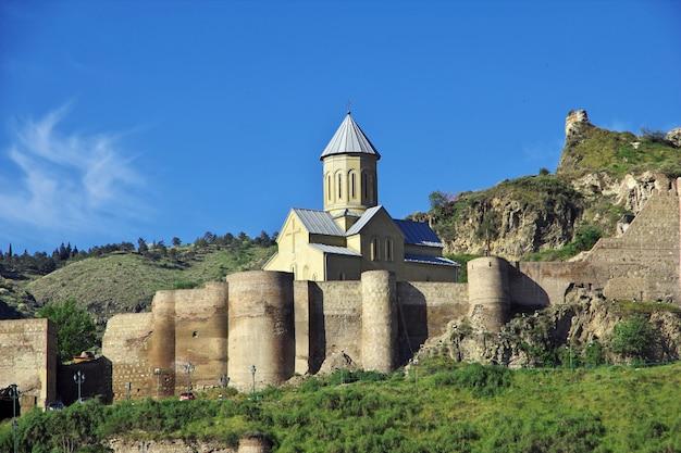 Die kirche in tiflis-stadt, georgia