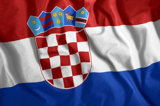 Die kroatische flagge
